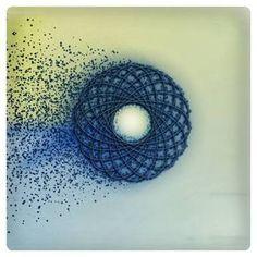 Resultado de imagem para spirograph art painting