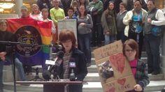 Riley Hackford-Peer @ LET IT STAND Rally in Salt Lake City, UT