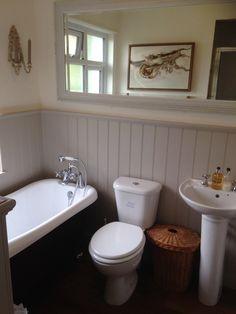 beadboard bathroom walls for bathroom bathroom ideas traditional with herringbone floor tongue and groove ceiling wainscoting Wainscoting Bathroom, Bathroom Interior, Bathroom Wall, Wainscoting Ideas, Washroom, Grey Bathrooms Designs, Chic Bathrooms, Small Bathrooms, Bathroom Photos