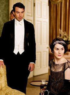 Lord Anthony Gillingham and Lady Mary Season 4