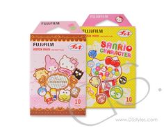 Fujifilm Instax Films for Fuji Camera - Sanrio Character, 20 Sheets                   http://www.dsstyles.com/product/fujifilm-instax-films-for-fuji-camera---sanrio-character,-20-sheets