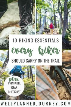10 Day Hiking Essentials Every Hiker Needs - Well Planned Journey