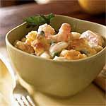 Creamy Gruyère and Shrimp Pasta Recipe | MyRecipes.com