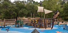 Reese's Retreat at Brookside Park - Pirate-Themed Inclusive Playground