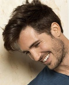 A medium brown straight shaved sides mens modern men  Men s hair men hairstyle | hairstyles