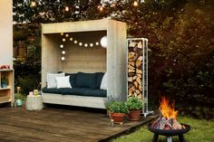 Most Creative Gardening Design Ideas - New ideas Home Furniture, Outdoor Furniture, Outdoor Decor, Chaise Restaurant, Diy Projects For Beginners, Diy Fence, Brick Pavers, Diy Chicken Coop, Ottoman