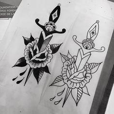 Almost ready for Thursday #rachelwelsby #tattooapprentice #apprenticetattoo #apprenticeflash #goldendaggers #btattooing #darkartists #blackworkers #melrose #hollywood #losangeles #california