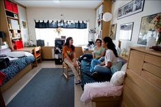 A typical room in Kinsolving at UT Austin