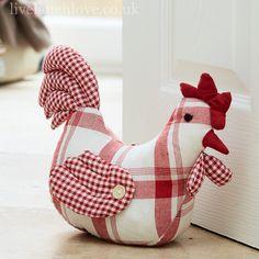 Country kitchen doorstops