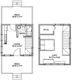 18x30 Tiny House 18x30h7i 999 Sq Ft Excellent