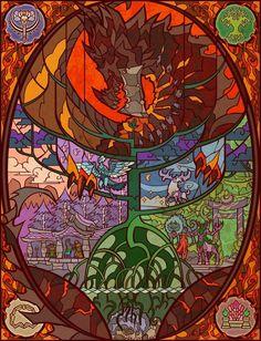 A World of warcraft art by an artist in deviantart #worldofwarcraft #blizzard #Hearthstone #wow #Warcraft #BlizzardCS #gaming
