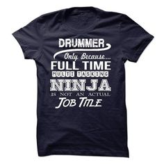 Drummer - #tshirt #graphic t shirts. BUY-TODAY => https://www.sunfrog.com/LifeStyle/Drummer-51343890-Guys.html?id=60505