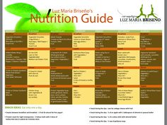 7 Best Luz Maria Briseno Nutritionists Images Eat Clean Recipes