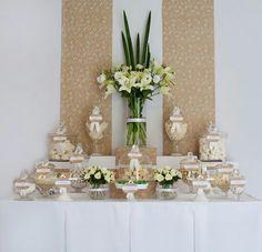 Great wedding dessert table
