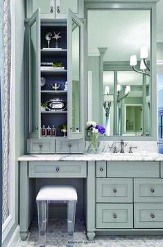 35 Best Rustic Bathroom Vanity Ideas and Designs for Modern Bathroom Cabinets, Bathroom Layout, Bathroom Storage, Small Bathroom, Bathroom Ideas, Bathroom Makeovers, Bathroom Mirrors, Bathroom Organization, Bathroom Renovations