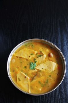 Dal dhokli recipe with step by step photos - a traditional Gujarati one pot meal dish made by simmering wheat flour dumplings in gujarati dal Veg Recipes, Indian Food Recipes, Vegetarian Recipes, Cooking Recipes, Healthy Recipes, Ethnic Recipes, Recipies, Indian Snacks, Fast Recipes