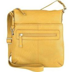 Yellow bag -- great color, good for travel