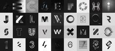Superb Black and White Typography Project – Fubiz Media