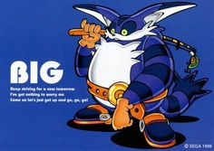 Big The Cat, Classic Sonic, Sonic Adventure, Sonic Heroes, Sega Dreamcast, Game Info, Minimalist Poster, Sonic The Hedgehog, Video Game