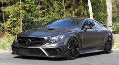 Mercedes S63 AMG Coupe Black Edition by Mansory