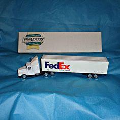 FedEx Diecast Vehicle Lledo Model Car by WelshGoatVintage on Etsy