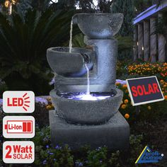 Find This Pin And More On Solarbrunnen / Solar Springbrunnen By  Gartengalaxie.