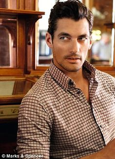 M unveils its new collection with a little help from David Gandy in Lake Como