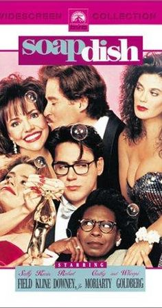 Soapdish (1991).  Pure delight!  Kevin Kline is always and truly hilarious!  Whoopi Goldberg looks great in this movie.