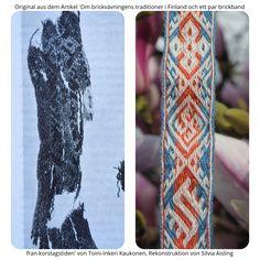 Inkle Weaving, Inkle Loom, Card Weaving, Tablet Weaving Patterns, Viking Clothing, Clothing And Textile, Sacred Geometry, Larp, Vikings