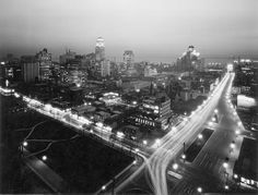 Downtown Toronto, 1934 - when the Royal York Hotel dominated the skyline.