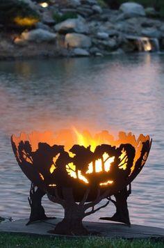 15-Металлическая скульптура для разжигания костра от Мелиссы Крисп.jpg (397×600)
