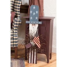Uncle Sam Porch Sitter--easy for someone with painting skills