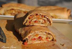 Placinta cu ton Seafood, Sandwiches, Vegan Recipes, Food And Drink, Mai, Bread, Fish, Salts, Sea Food