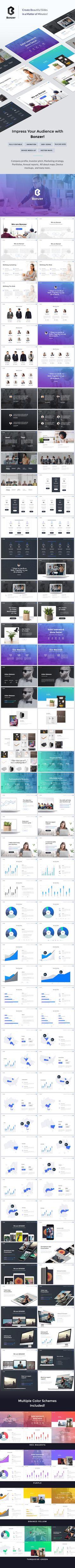 Bonzer  Creative Keynote Template #professional #keynote • Download ➝ https://graphicriver.net/item/bonzer-creative-keynote-template/19448020?ref=pxcr
