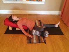 Go with the flow. Connect to svadisthana chakra in this restorative practice. Restorative Yoga Sequence, Yoga Nidra, Vinyasa Yoga, Yin Yoga, Yoga Meditation, Yoga Flow, Mindfulness Retreat, Crossfit, Wall Yoga