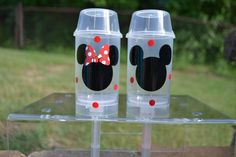 15 Mickey or Minnie Mouse push pop party favors by ihaveafavor, $37.50
