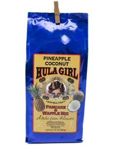 HULA GIRL - PINEAPPLE COCONUT PANCAKE AND WAFFLE MIX - 21oz