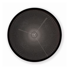 Eclipse is a clock where the face transforms as time changes. The hands mark a visual rhythm, an optical illusion made from the black circles which overlap and move. The time is always visible whilst the clock is transforming. Eclipse Clock, by Constance Guisset, for Petite Friture
