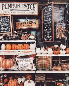 Fall farmers market full of pumpkins. Fall farmers market full of pumpkins.