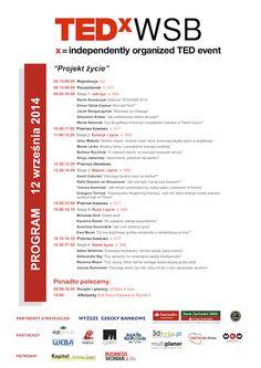 TEDxWSB Program