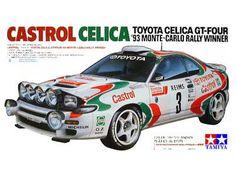 Boxart Toyota Celica GT-4 24125 Tamiya