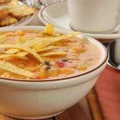 Chicken Tortilla Soup    Ramblings of a (Bad) Domestic Goddess