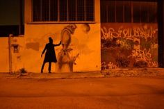 street art silhouettes | Published in Category: Art , Featured on Friday, March 11th, 2011