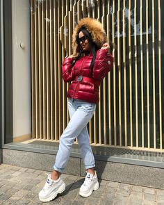 Buffalo Shoes, Puffy Jacket, Moncler, Canada Goose Jackets, Winter Fashion, Jackets For Women, Winter Jackets, Boots, Classic