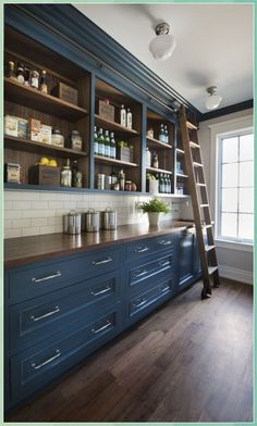 Navy Blue Cabinet 2020 Trends I was just talk - Pine Cone Crafts for Kids #Navy #Blue #Cabinet #2020 #Trends #was #just #talk #Pine #Cone #Crafts #for #Kids Navy Blue Kitchen, Kitchen Interior, Home, Country Kitchen Decor, Spring Home Decor, Trending Decor, Pantry Design, Kitchen Renovation, Kitchen Design