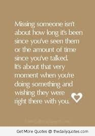 quotes about missing someone you love - Google Search