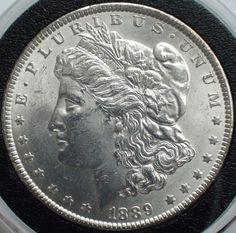 1889 Morgan Silver Dollar Gem Brilliant by ForesthillNumismatic