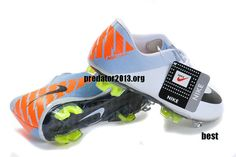 buy online eafc0 dd901 Nike Mercurial 2012 Superfly III FG Cristiano Ronaldo 2012 Soccer Cleats  White Black Orange  54.69!