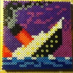Titanic perler beads by Tiara Cunningham
