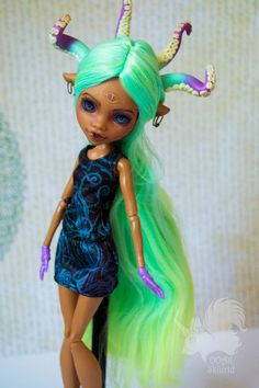 OOAK Clawdeen Wolf - Tentacles by Skiurid on @DeviantArt